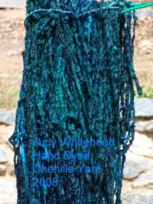 Hand Dyed Chenille Yarn